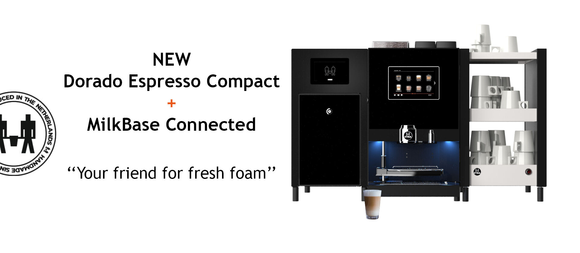 Header lancering MilkBase Connected Compact